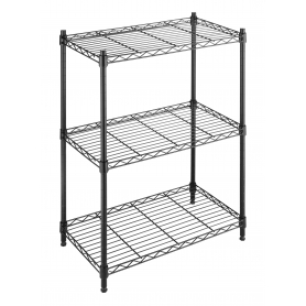 Supreme 3 Tier Shelf Small Whitmor