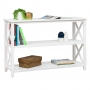 White 2 Tier Shelf