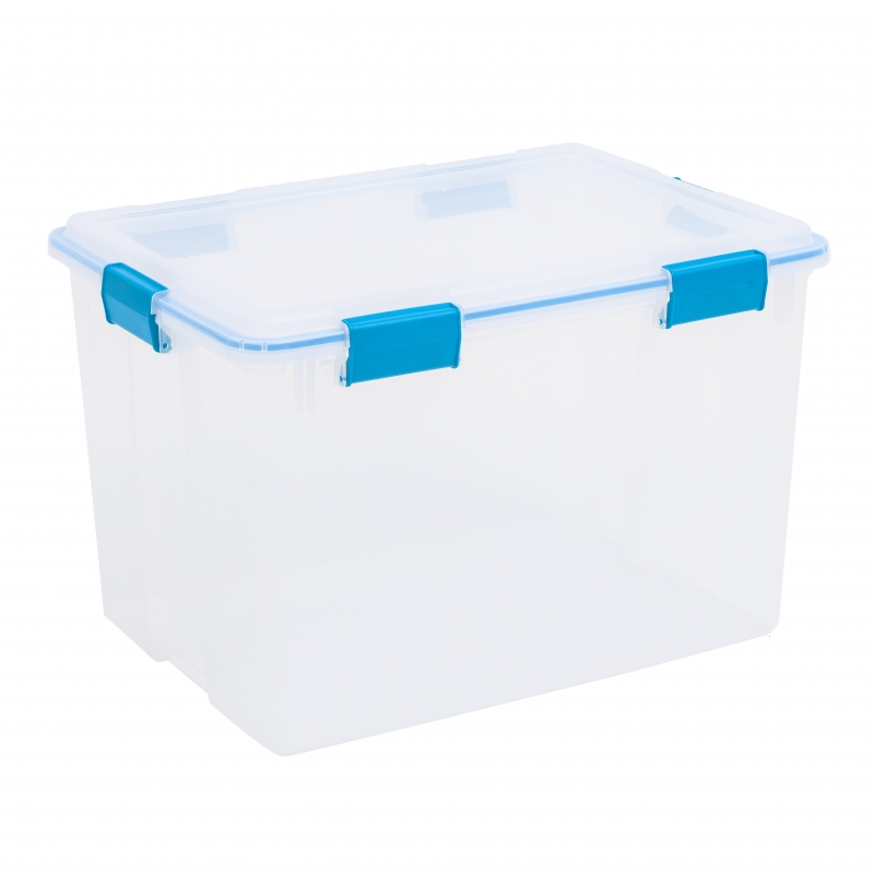 Sterilite box 76l with seal lid from storage box for Garage totes 76