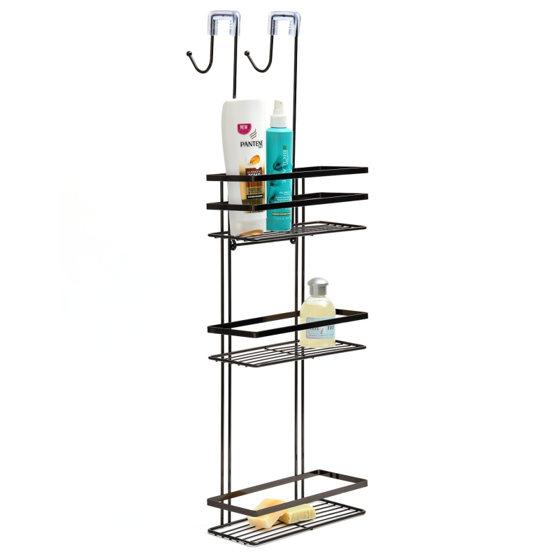 Shower Caddy 3 Tier Black Onyx