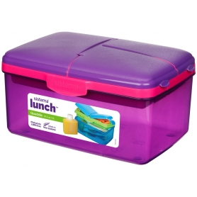 sistema Quaddie Lunch Box with Bottle