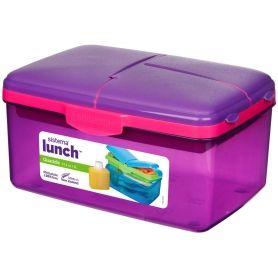 sistema Quaddie Lunch Box with Bottle