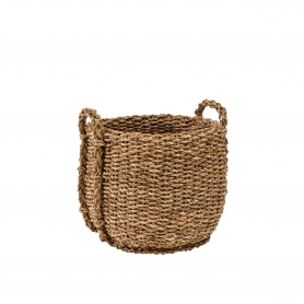Round Seagrass Basket Medium