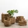 Round Seagrass Basket Medium