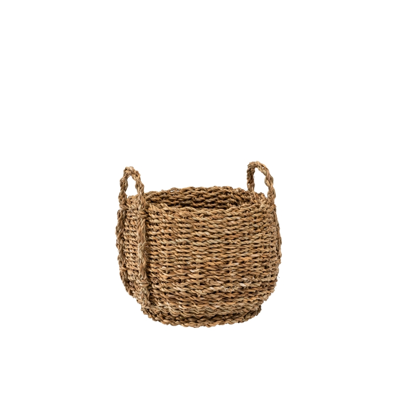 Round Seagrass Basket Small