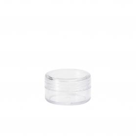 Clear Screw Cap Pot 5gm
