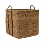 Square Seagrass Basket Large