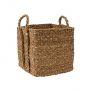 Square Seagrass Basket Medium