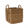 Square Seagrass Basket Medium
