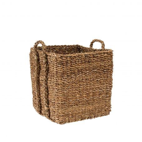 Square Seagrass Basket Small