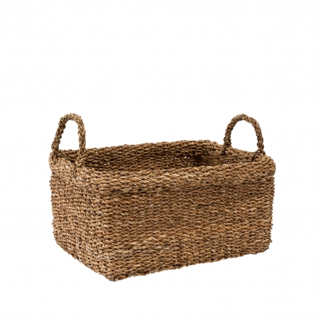 Seagrass Basket Large with Handles