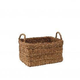 Seagrass Basket Medium with Handles