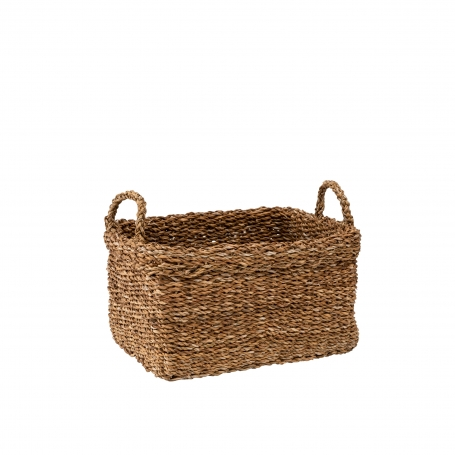 Seagrass Basket Medium with Handles