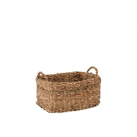 Seagrass Basket Small with Handles