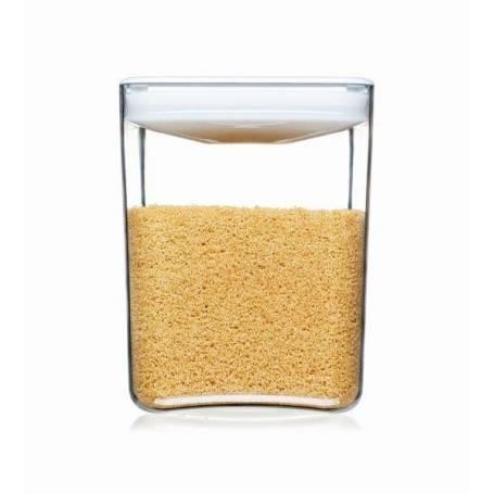 Click Clack Cube Food Storer 3.3L White Lid
