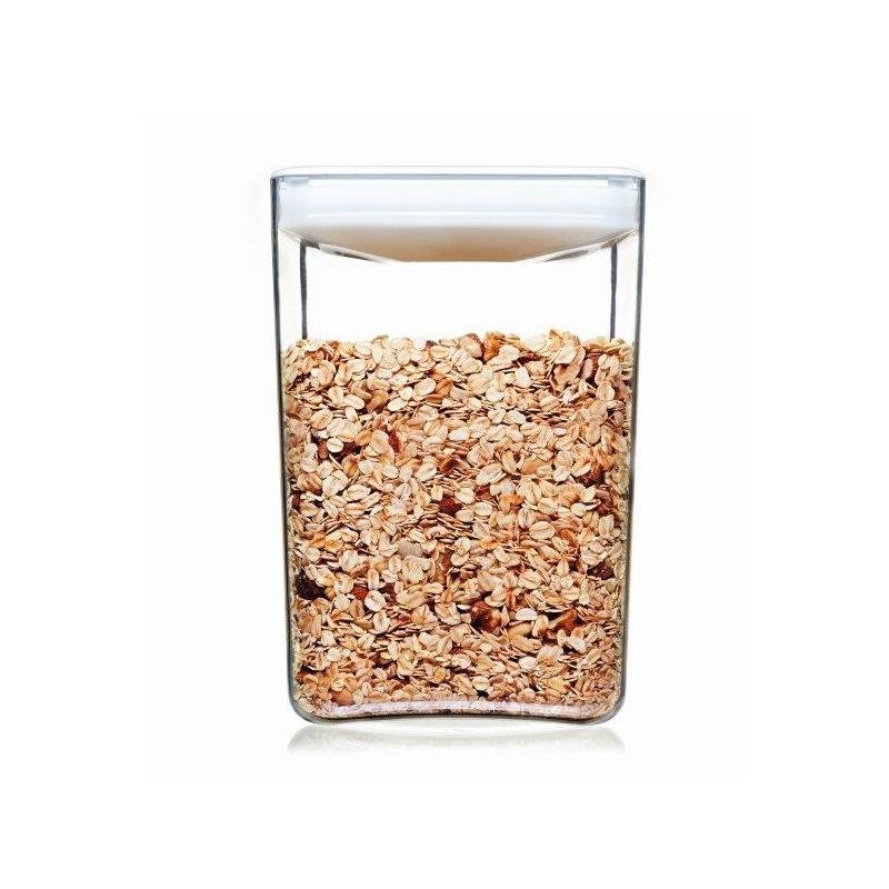 Click Clack Cube Food Storer 4.3L White Lid