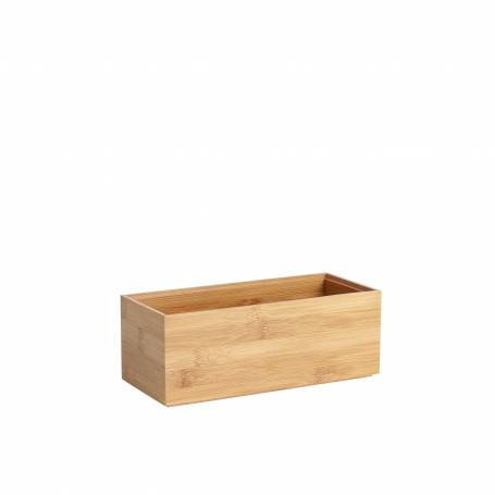Bamboo Drawer Organiser Rectangle Medium