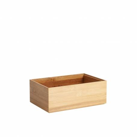 Bamboo Drawer Organiser Rectangle Wide
