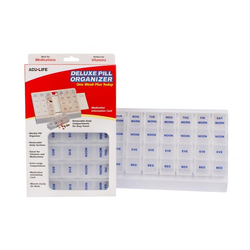 Deluxe Pill Organiser