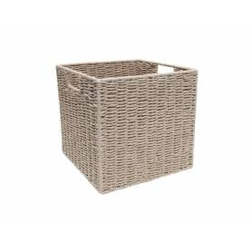 Pastiche Rope Basket White Medium