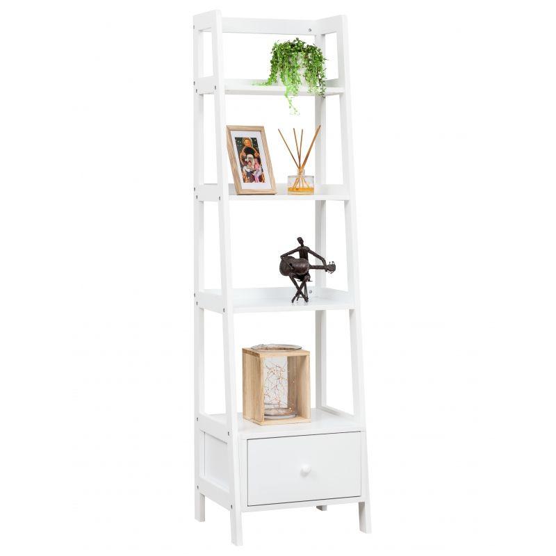 White 4 Tier Shelf