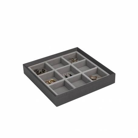 Wenge Jewellery Organiser 9 Section
