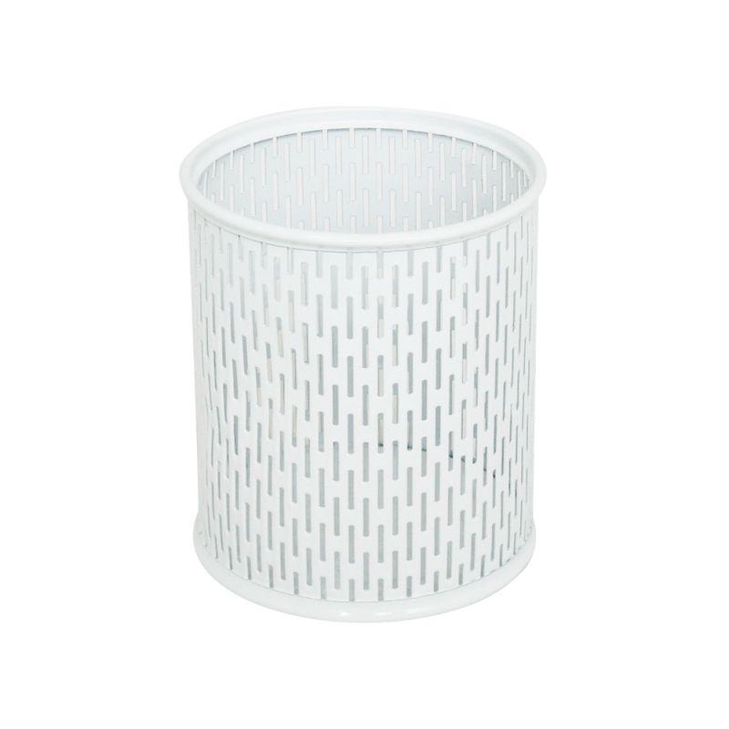 Bijou Pencil Cup Round Black or White