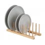 Plate/Lid Rack Bamboo