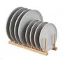 Plate/Lid Rack Bamboo