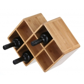 Wine Rack Bamboo
