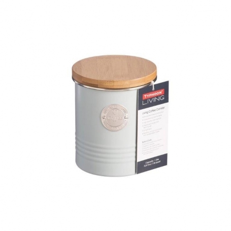 Coffee Canister White