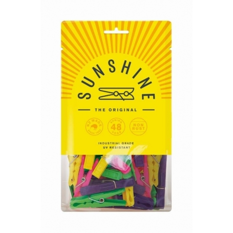 Sunshine Pegs 48 Pack