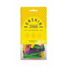 Sunshine Pegs 20 Pack