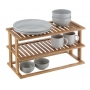 Pantry Shelf 2 Tier Bamboo