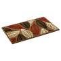 Flocked Leaf Mat Coir