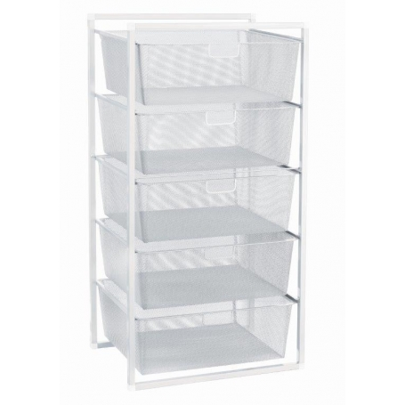 Mesh Drawer Baskets 5 Tier LTW - 1