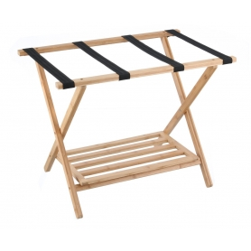 Luggage Rack Bamboo