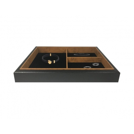 Urburn 3 Compartment Valet Jewellery Organiser