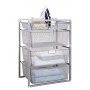 Mesh Drawer Baskets 4 Tier