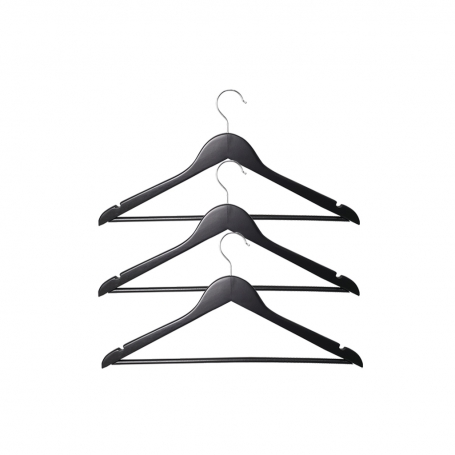 Wooden Coat Hanger 3 Pack
