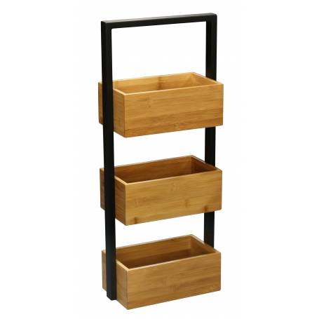 Bamboo 3 Tier Caddy