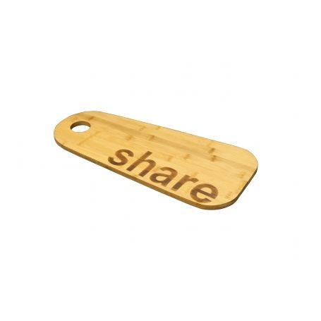"""Bamboo """"Share"""" Chopping Board"""