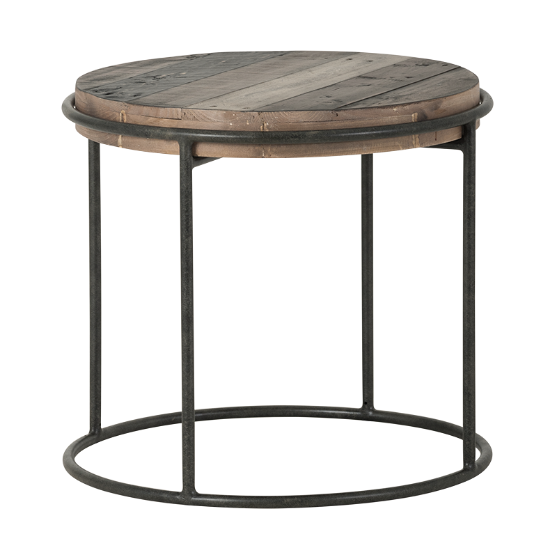 Round Lamp Table Iberia