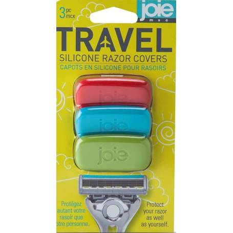 Travel Razor Covers 3 Pack