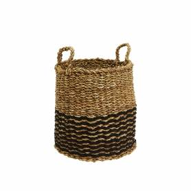 Sea Grass Basket Round Small