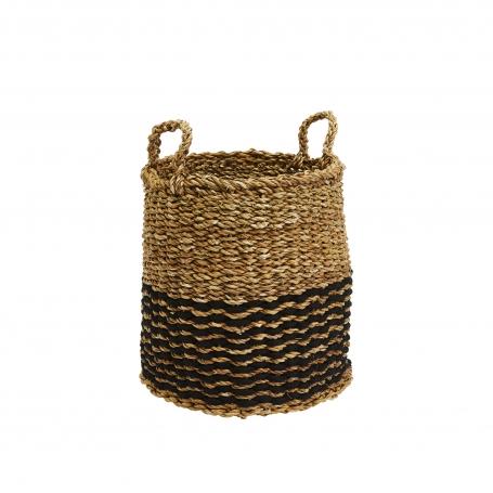 Sea Grass Basket Round Small