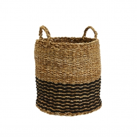 Sea Grass Basket Round Medium