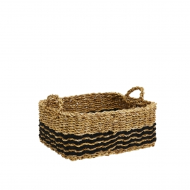 Sea Grass Basket Rectangular Small