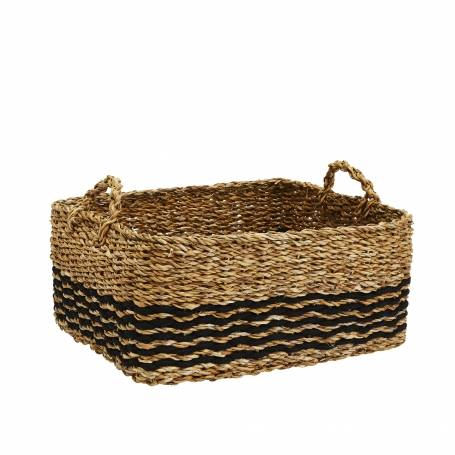 Sea Grass Basket Rectangular Large