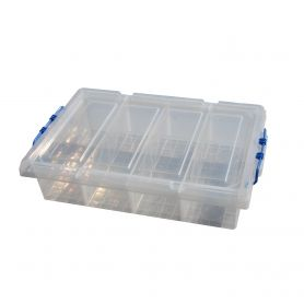 Underbed Storage Box 4 Compartments